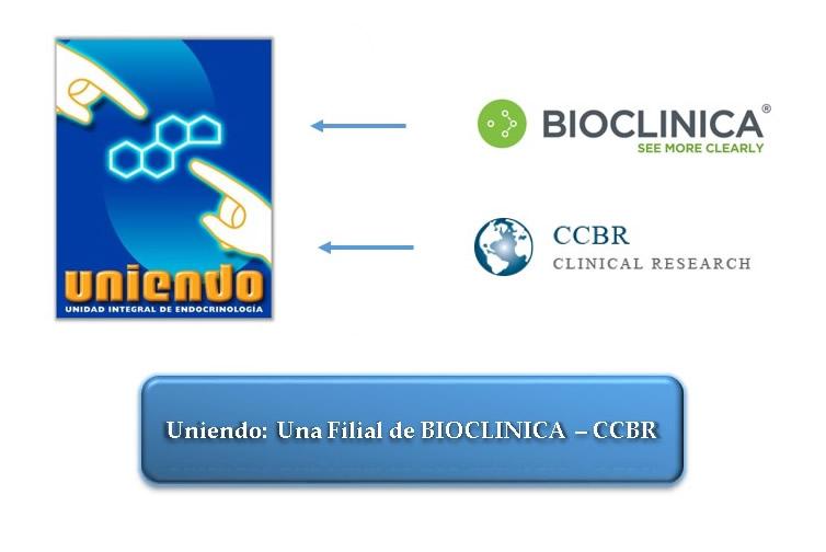 Somos filiales de BIOCLINICA - CCBR